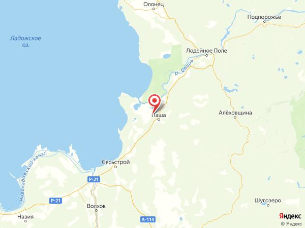 деревня Вишняков Посад на карте
