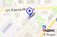 Схема проезда до компании ПРОМТОВАРНЫЙ МАГАЗИН в Олонеце