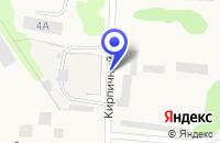 Схема проезда до компании ПТФ МЕРЕДИАН в Олонеце