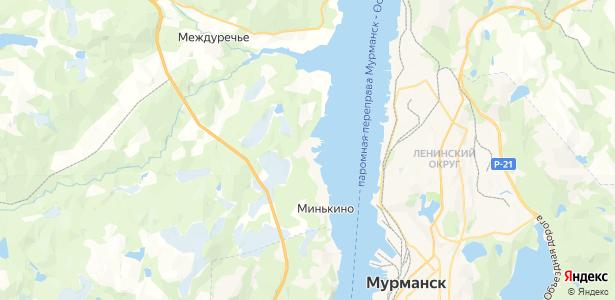 Минькино на карте