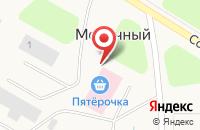 Схема проезда до компании Врачебная амбулатория в Молочном