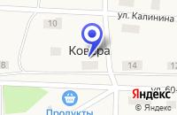 Схема проезда до компании КОВЕРИНСКИЙ ФЕЛЬДШЕРСКО-АКУШЕРСКИЙ ПУНКТ в Олонеце