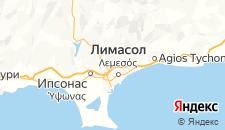 Отели города Лимассол на карте
