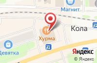Схема проезда до компании Средняя общеобразовательная школа №36 в Армянском