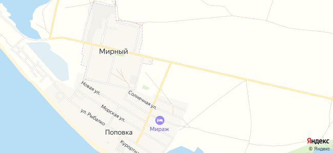 Гостевые дома Мирного и Поповки - объекты на карте
