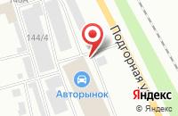 Схема проезда до компании Форсаж в Мурманске