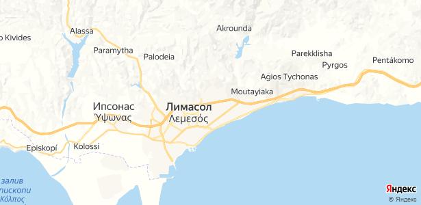 Lemesos на карте