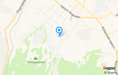 Местоположение на карте пункта техосмотра по адресу г Мурманск, ул Марата, д 5 к 1