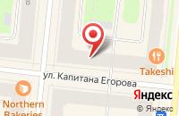 Схема проезда до компании Золотой Телец в Мурманске