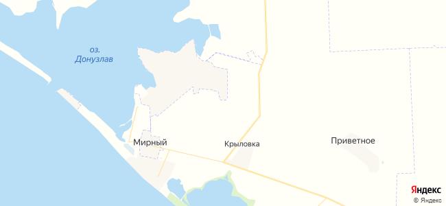Гостиницы Мирного и Поповки - объекты на карте