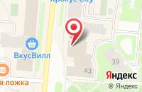Схема проезда до компании Идеальный шкаф в Мурманске