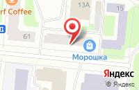 Схема проезда до компании Хит в Мурманске