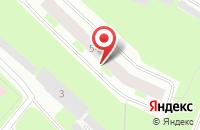 Схема проезда до компании Барракуда в Мурманске