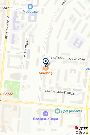 ENTER на карте Мурманска