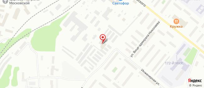 Карта расположения пункта доставки DPD Pickup в городе Мурманск