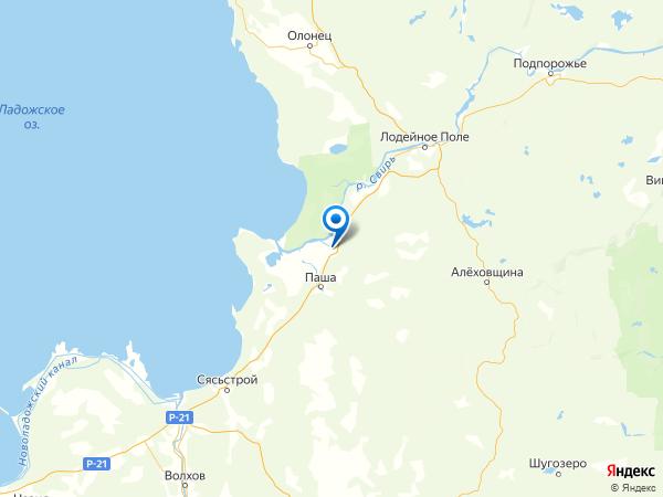 деревня Пономарево на карте