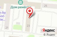 Схема проезда до компании НордПроект в Мурманске