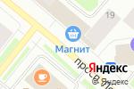 Схема проезда до компании Дары Моря в Мурманске