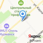 Независимая регистраторская компания на карте Мурманска