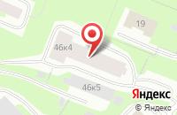 Схема проезда до компании Связьсевер в Мурманске