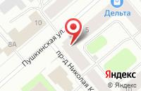 Схема проезда до компании Мой Город в Мурманске