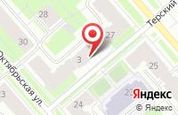 Схема проезда до компании Фонд развития малого и среднего предпринимательства Мурманской области в Мурманске