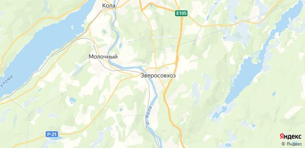 Зверосовхоз на карте