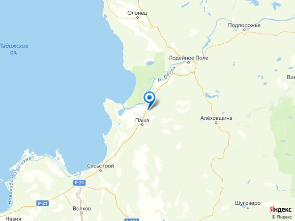 деревня Доможирово на карте