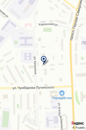 VIP-ТАКСИ на карте Мурманска