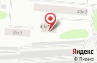 Схема проезда до компании Баренц-Сайф в Мурманске