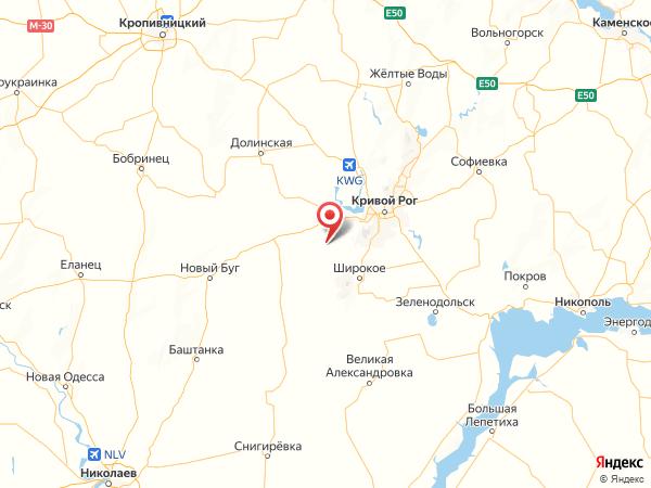 село Новое на карте