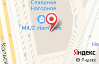 Схема проезда до компании Баскин-Роббинс в Мурманске
