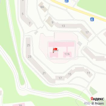 г. Мурманск, шоссе. Верхне-Ростинское,17А на карта
