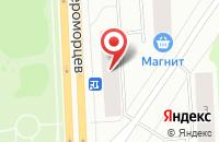 Схема проезда до компании Гостинец в Мурманске