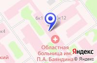 Схема проезда до компании ОТДЕЛЕНИЕ ГИНЕКОЛОГИИ в Мурманске