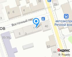 Схема местоположения почтового отделения 172735