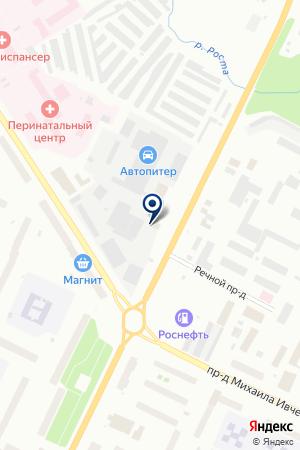 SVET51 на карте Мурманска
