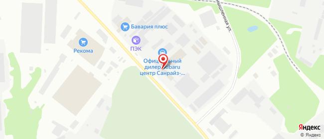 Карта расположения пункта доставки 220 вольт в городе Мурманск