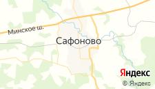 Отели города Сафоново на карте