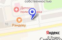 Схема проезда до компании ПРОДОВОЛЬСТВЕННЫЙ МАГАЗИН ОГОНЕК в Снежногорске
