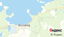 Гостиницы города Алекка на карте