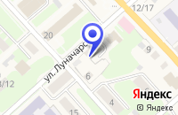 Схема проезда до компании РУСИЧИ в Демянске