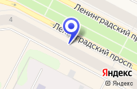 Схема проезда до компании УНИВЕРСАМ ЛОТОС в Оленегорске