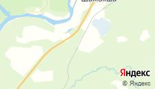 Гостиницы города Заостровье на карте