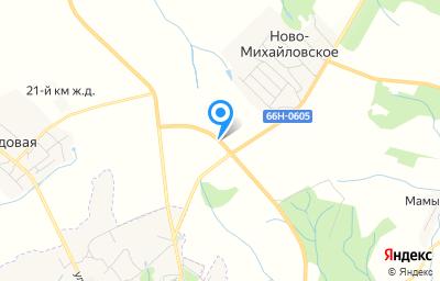 Местоположение на карте пункта техосмотра по адресу Смоленская обл, Дорогобужский р-н, д Ново-Михайловское