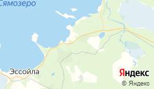 Отели города Сямозеро на карте