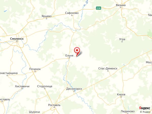 поселок Мелехово на карте
