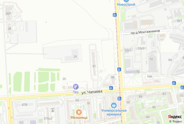 продажа квартир на ул. Чапаева – пр. Победы