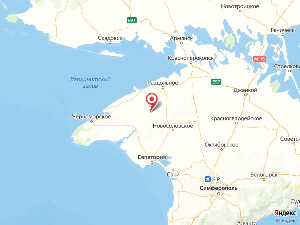 село Березовка на карте