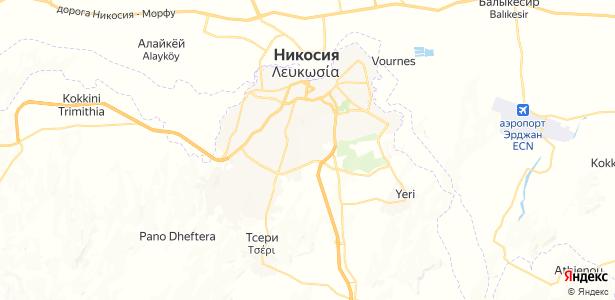 Lefkosia на карте